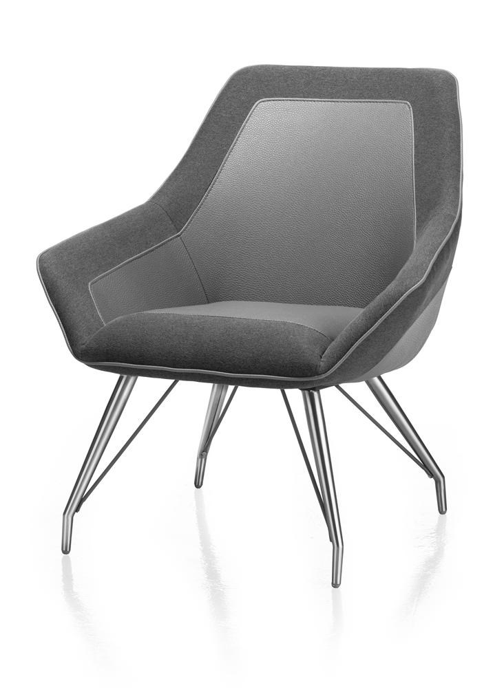 Fauteuil JAX Xooon anthracite