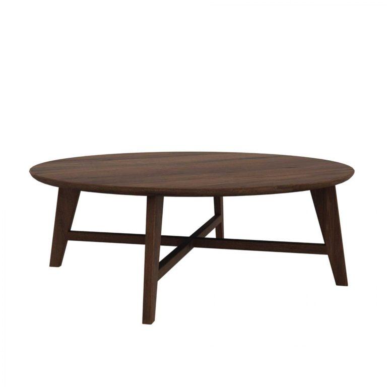 Table basse OSSO noyer (Modèle d'exposition)